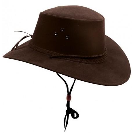 KAKADU SOAKA Brown australský klobouk