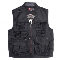 TRAVELLER Black outdoorová vesta