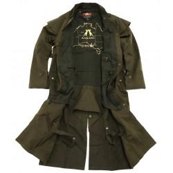 WORKHORSE DROVERS Brown australský dlouhý kabát