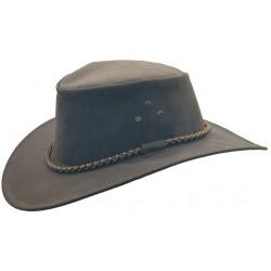 THE ROO australský kožený klobouk