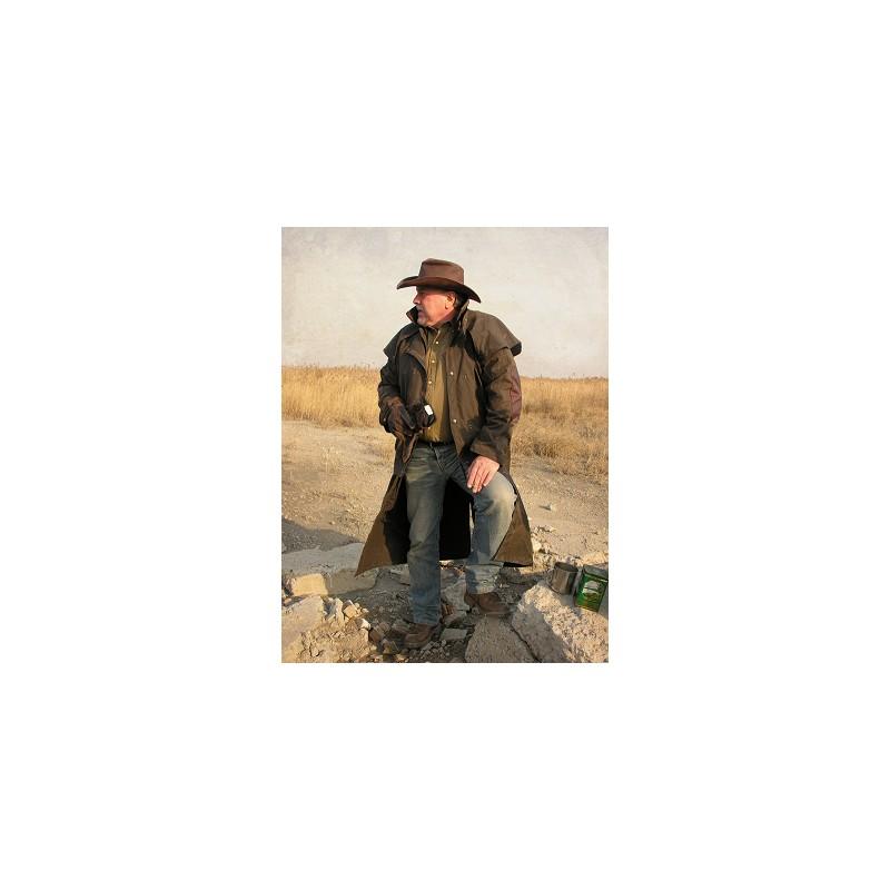 7a7c532f854 LONGRIDER 3-In-1 Brown australský dlouhý kabát - australské klobouky ...