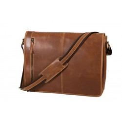 Atlanta Messenger bag Cognac