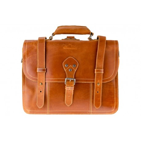Brooks Messenger bag Cognac