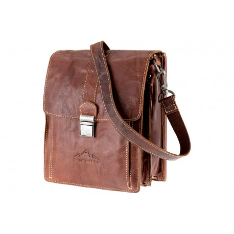 Galileo Messenger bag Brown