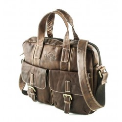 Alpsee Business bag Brandy