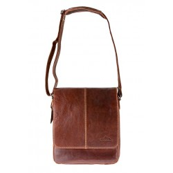 Kansas Messenger bag Brandy