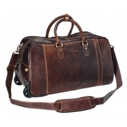 Rom Trolley Travel bag Brandy