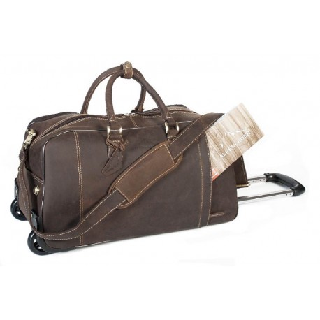 Rom Trolley Travel bag Coffee