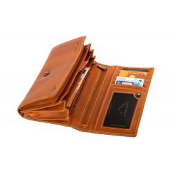 Dámská peněženka Almraush Cognac