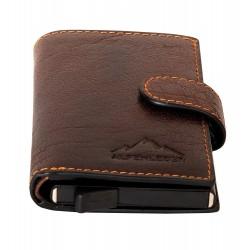 Pánská peněženka Card Lift Easy Brandy