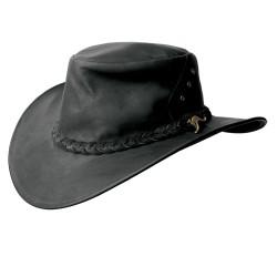 DARWIN australský kožený klobouk