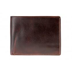 Pánská peněženka Davos Cognac