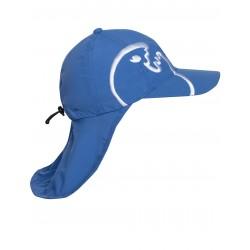 UV Cap Bites Kids Blue letní čepice s ochranou krku