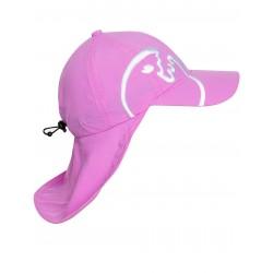 UV Cap Bites Kids Pink letní čepice s ochranou krku