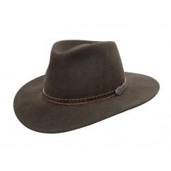 WILLIS Brown australský vlněný klobouk