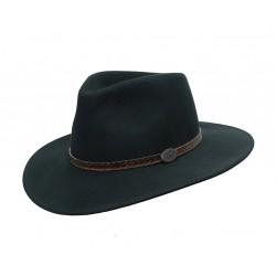 WILLIS Black australský vlněný klobouk