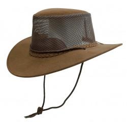 BREEZE SOAKA Brown australský klobouk