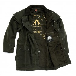 WORKHORSE Black australská nepromokavá bunda