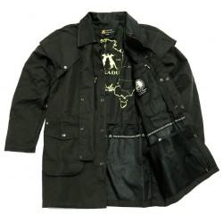 IRON BARK Black australská nepromokavá bunda