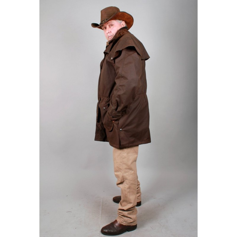 0ec7c1c97b7 IRON BARK Black australská nepromokavá bunda - australské klobouky ...